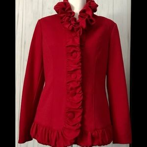 Katherine New York Blazer Sz.(M) Red